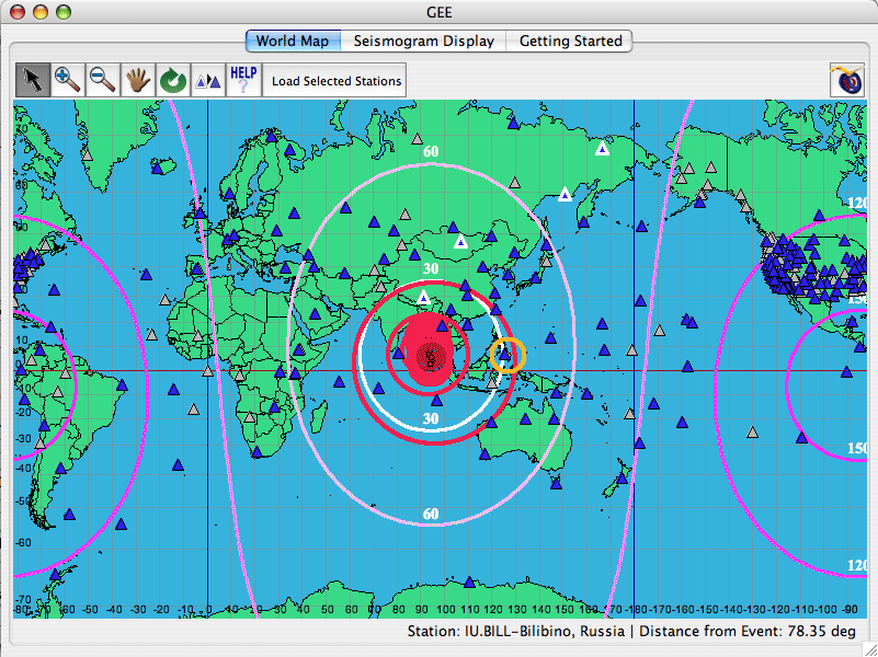 The Global Earthquake Explorer